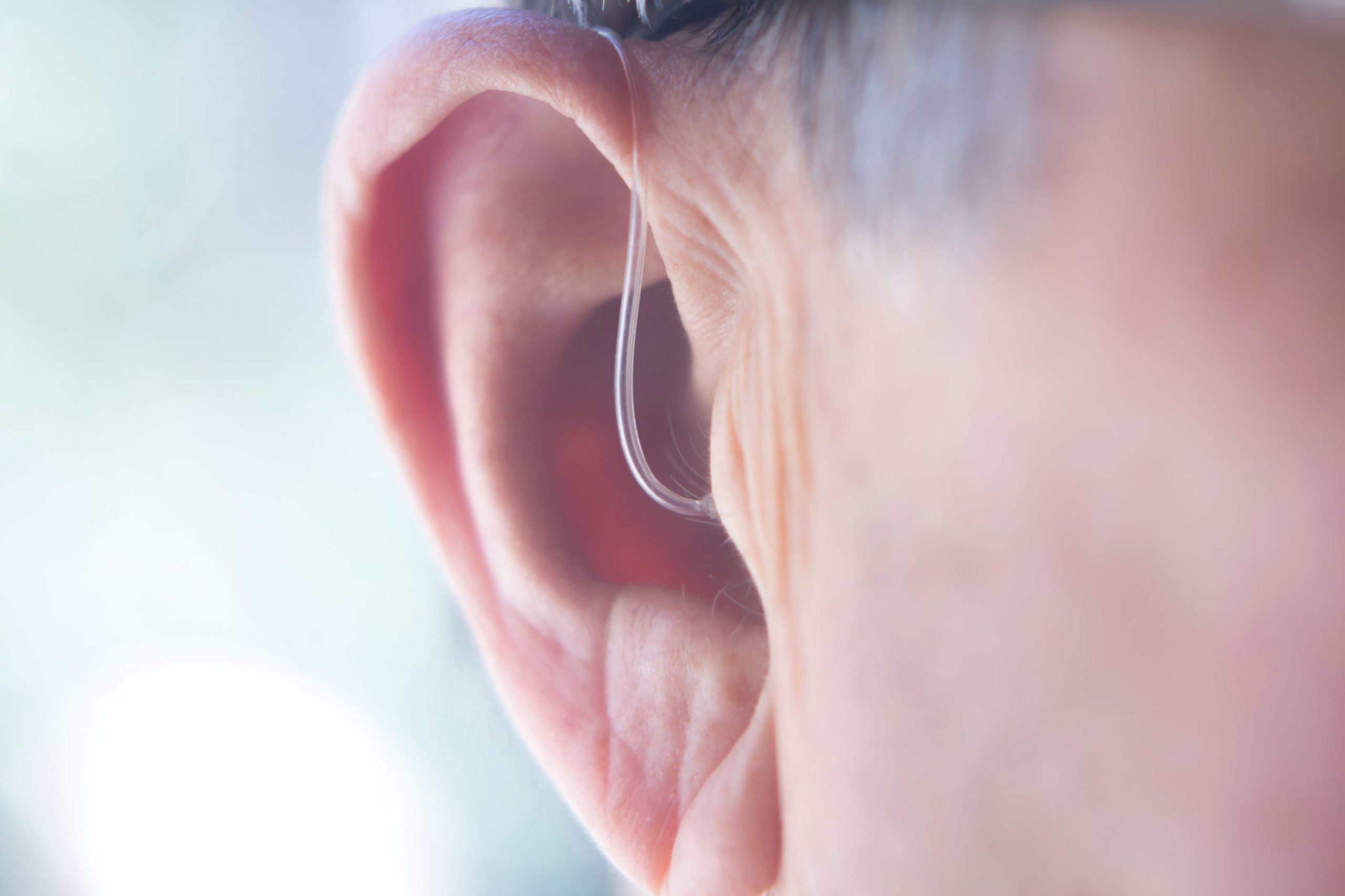 hearing aid inside ear