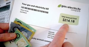 Expensive energy bill